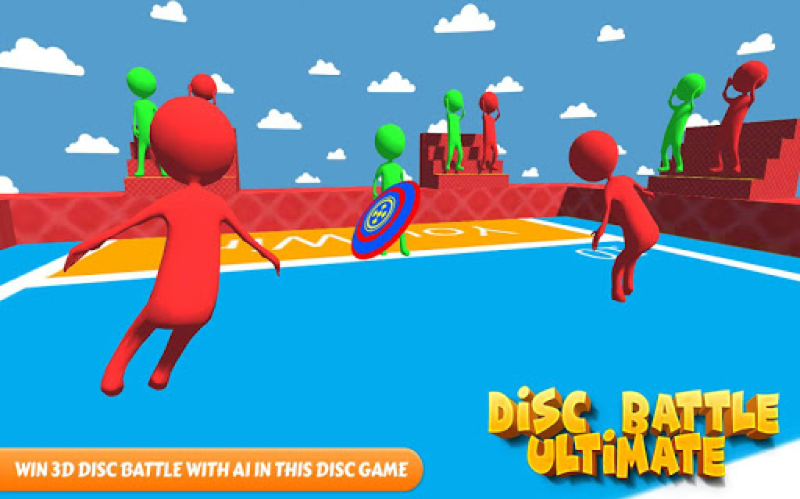 Ultimate Disc Throw Swing
